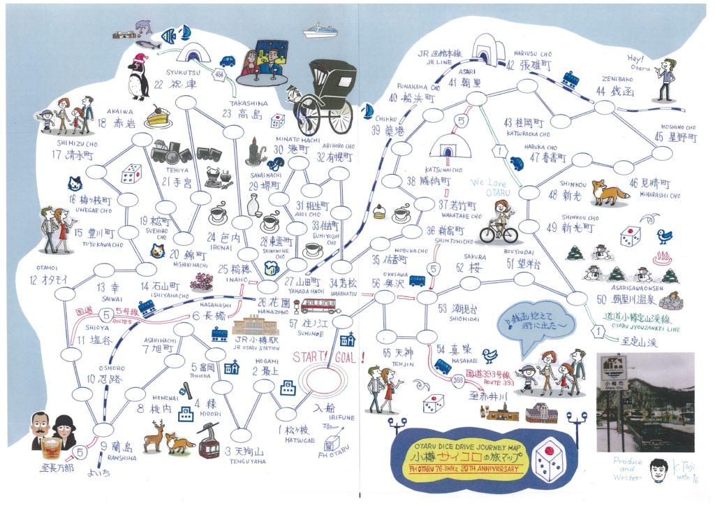 小樽サイコロの旅